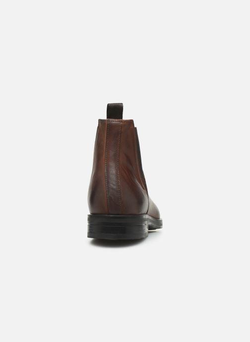 Bottines et boots Marvin&Co Nels Marron vue droite