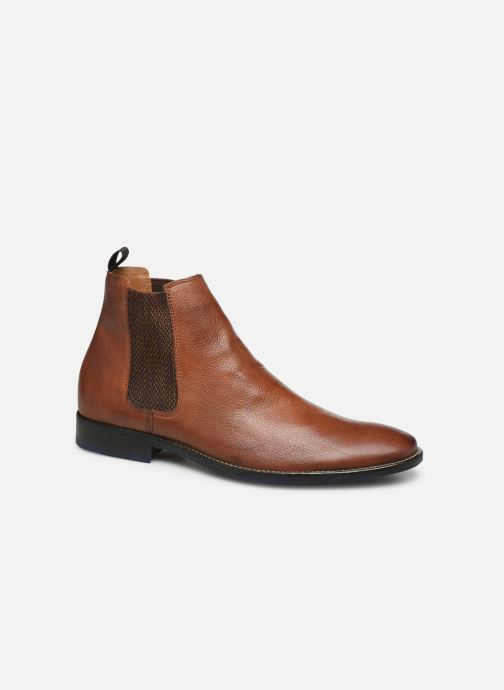 Bottines et boots Marvin&Co Nairobi Marron vue détail/paire