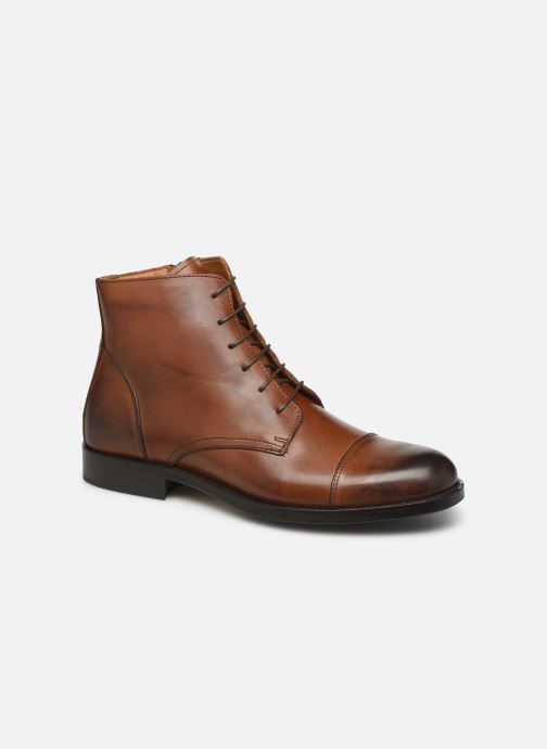 Bottines et boots Marvin&Co Newman Marron vue détail/paire