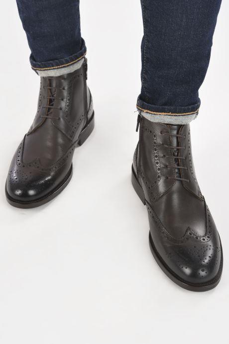 Bottines et boots Marvin&Co Nello Marron vue bas / vue portée sac