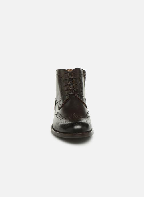 Bottines et boots Marvin&Co Nello Marron vue portées chaussures