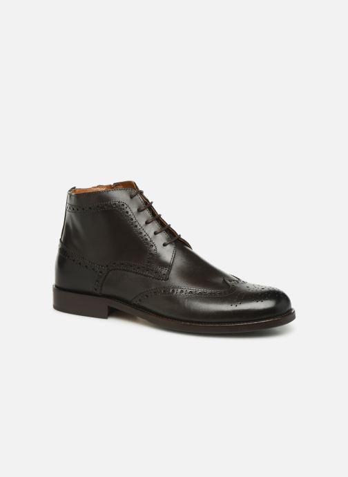 Bottines et boots Marvin&Co Nello Marron vue détail/paire