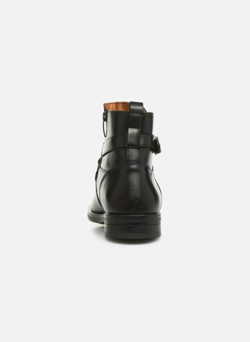 Bottines et boots Marvin&Co Nazario Noir vue droite