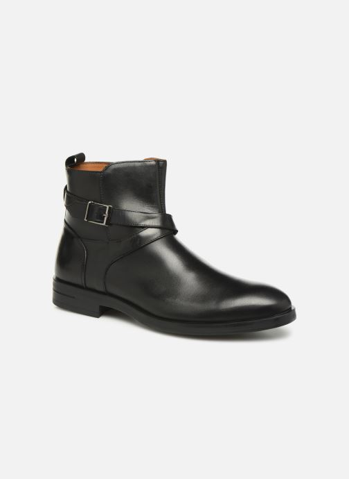 Ankelstøvler Marvin&Co Nazario Sort detaljeret billede af skoene