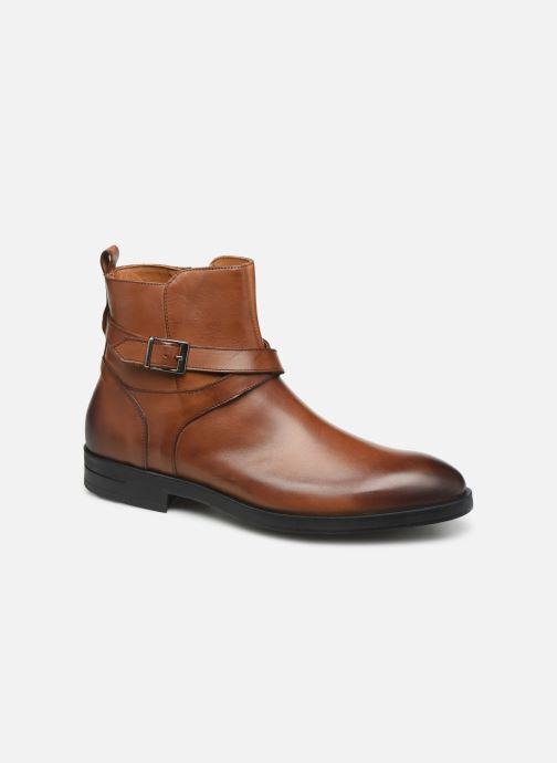 Bottines et boots Marvin&Co Nazario Marron vue détail/paire