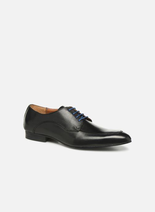 Zapatos con cordones Marvin&Co Nunzio Negro vista de detalle / par