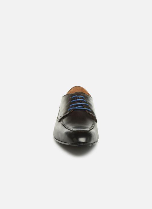 Scarpe con lacci Marvin&Co Nunzio Marrone modello indossato