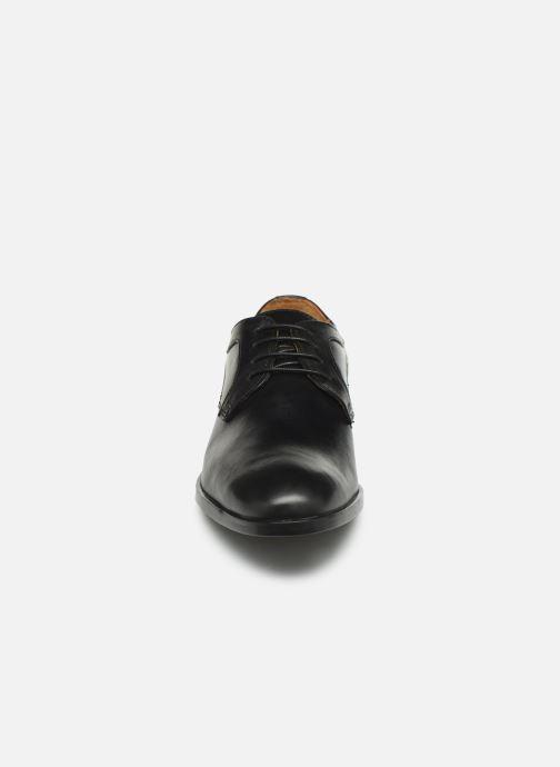 Scarpe con lacci Marvin&Co Nicolini Nero modello indossato