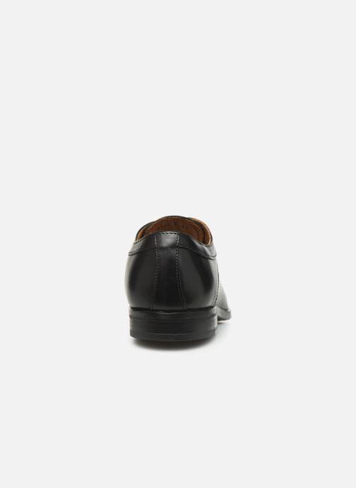 Scarpe con lacci Marvin&Co Nicolini Nero immagine destra