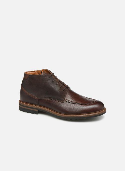 Bottines et boots Marvin&Co Nash Marron vue détail/paire