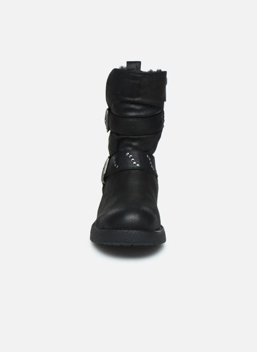 Bottines et boots MTNG WIKA Noir vue portées chaussures