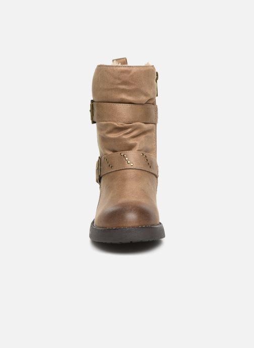 Bottines et boots MTNG WIKA Beige vue portées chaussures