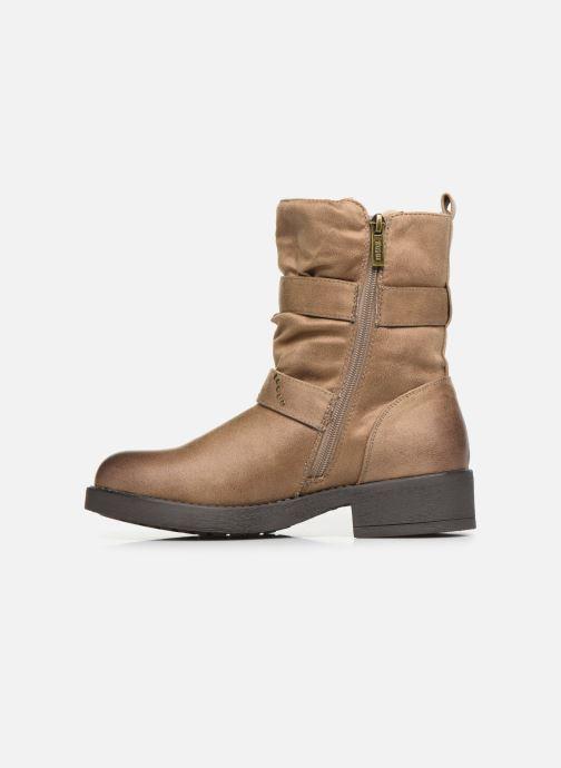 Bottines et boots MTNG WIKA Beige vue face