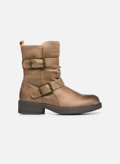 Bottines et boots MTNG WIKA Beige vue derrière