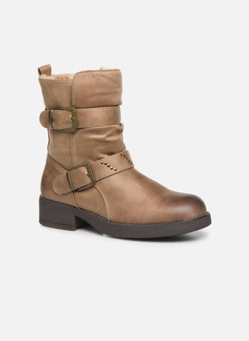 Bottines et boots MTNG WIKA Beige vue détail/paire