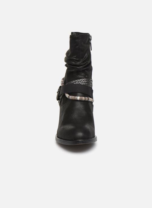 Boots en enkellaarsjes MTNG NEW WENDY Zwart model