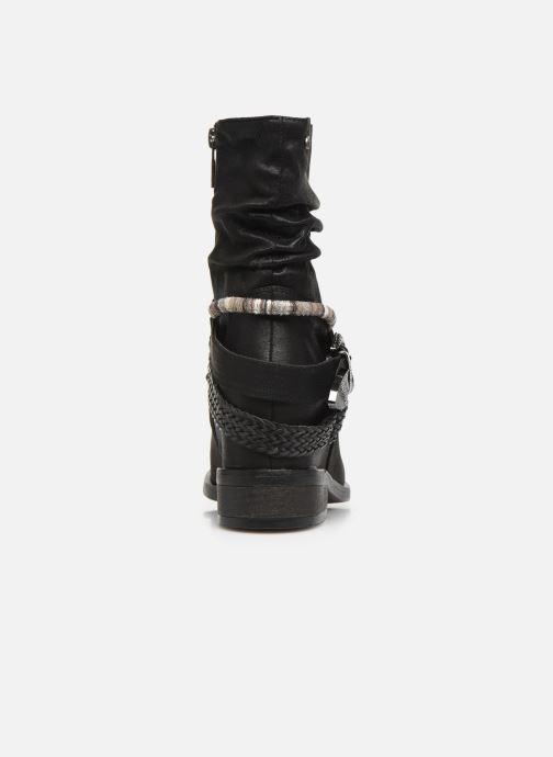Boots en enkellaarsjes MTNG NEW WENDY Zwart rechts