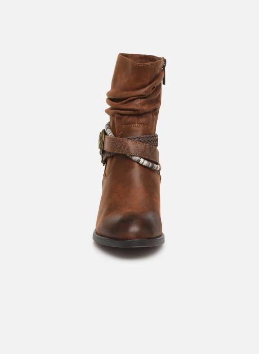 Boots en enkellaarsjes MTNG NEW WENDY Bruin model