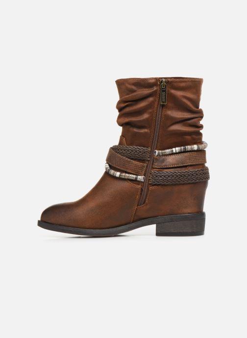 Bottines et boots MTNG NEW WENDY Marron vue face