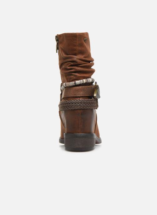 Bottines et boots MTNG NEW WENDY Marron vue droite