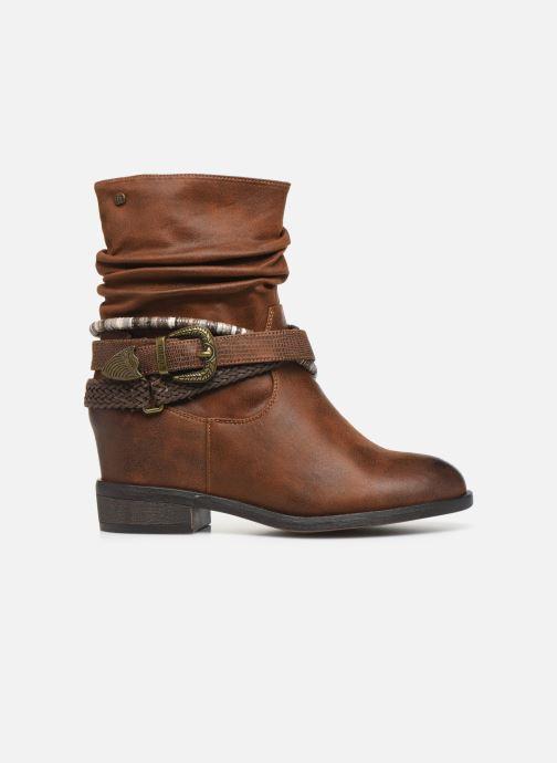 Boots en enkellaarsjes MTNG NEW WENDY Bruin achterkant