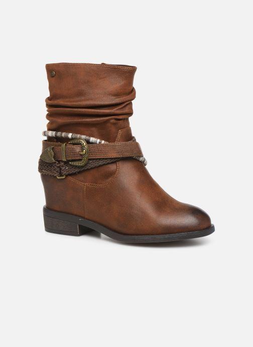 Bottines et boots MTNG NEW WENDY Marron vue détail/paire