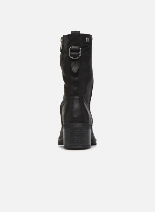 Boots en enkellaarsjes MTNG REINA 58564 Zwart rechts