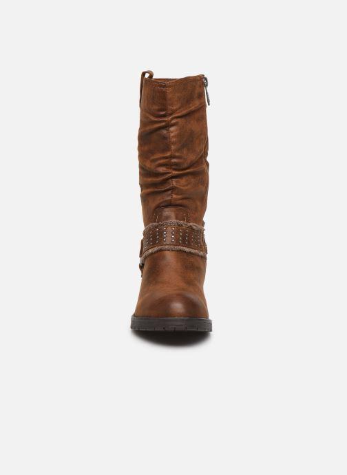 Stiefeletten & Boots MTNG REINA braun schuhe getragen