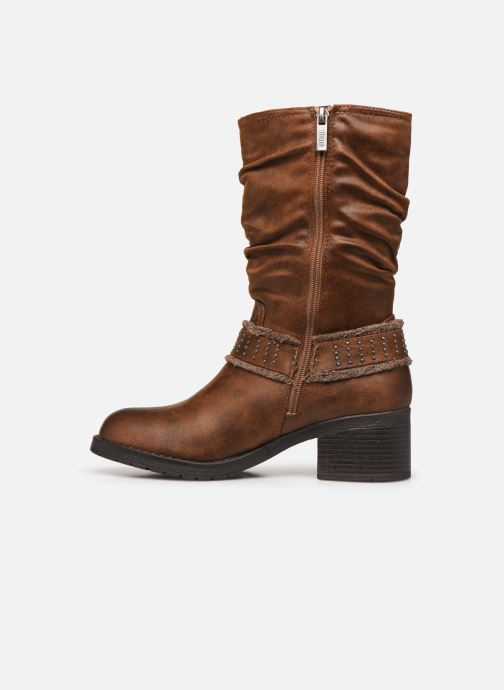 Stiefeletten & Boots MTNG REINA braun ansicht von vorne