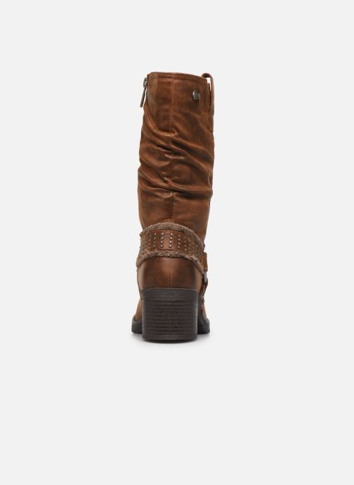 Stiefeletten & Boots MTNG REINA braun ansicht von rechts