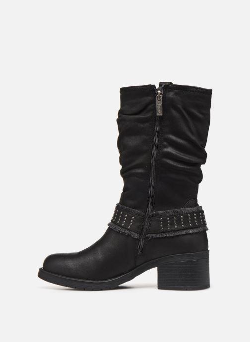 Boots en enkellaarsjes MTNG REINA Zwart voorkant
