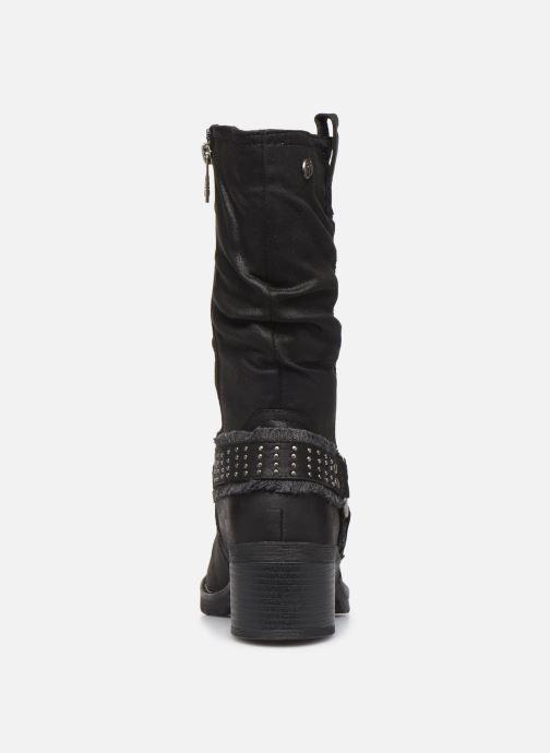 Boots en enkellaarsjes MTNG REINA Zwart rechts