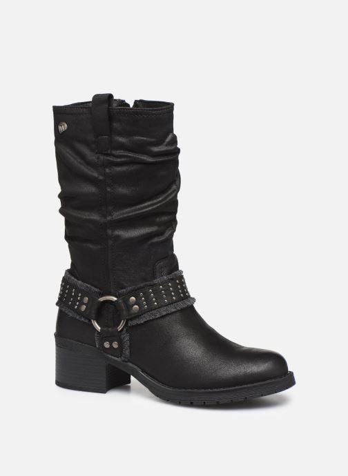 Boots en enkellaarsjes MTNG REINA Zwart detail