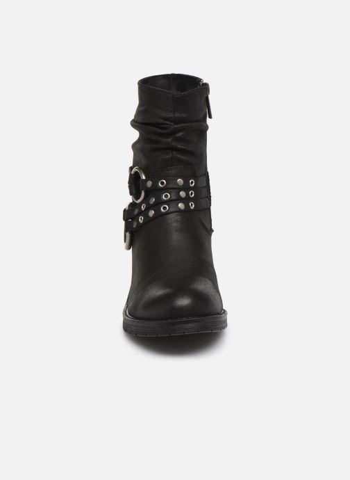 Stiefeletten & Boots MTNG REINA 58607 schwarz schuhe getragen