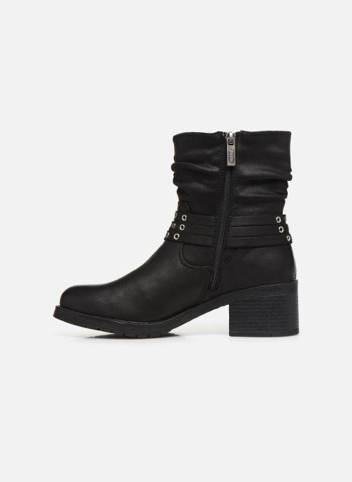 Boots en enkellaarsjes MTNG REINA 58607 Zwart voorkant