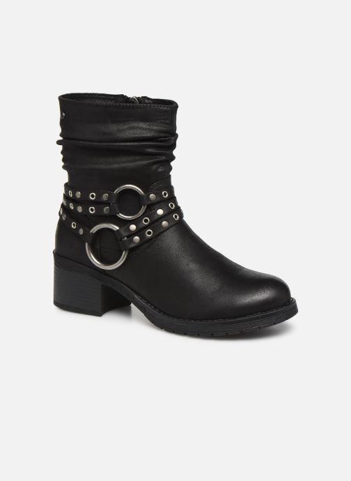Boots en enkellaarsjes MTNG REINA 58607 Zwart detail
