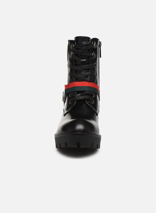 Botines  MTNG SAURO 58128 Negro vista del modelo