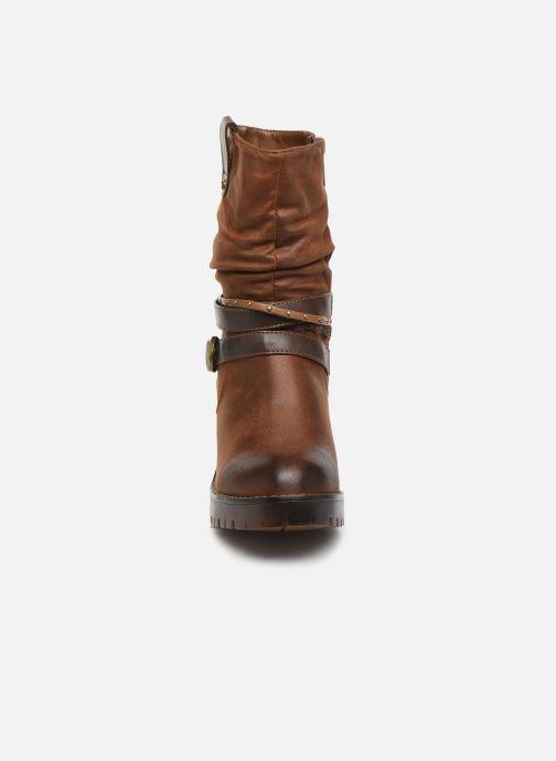 Bottines et boots MTNG GLAM Marron vue portées chaussures