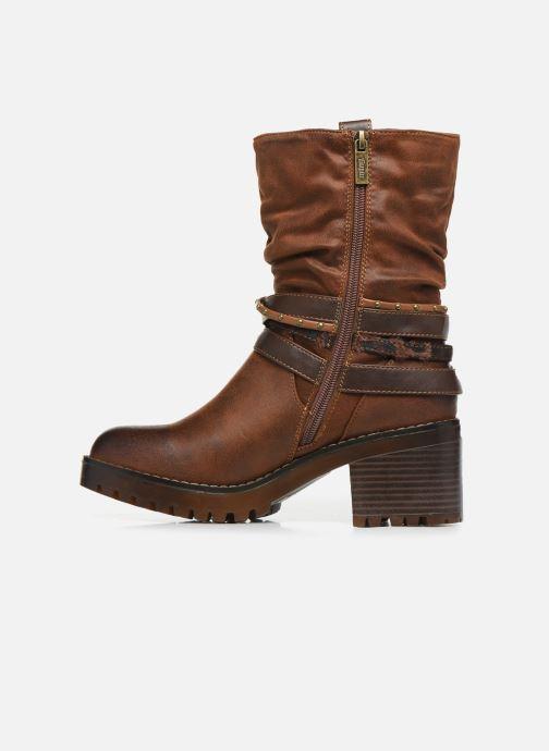 Boots en enkellaarsjes MTNG GLAM Bruin voorkant