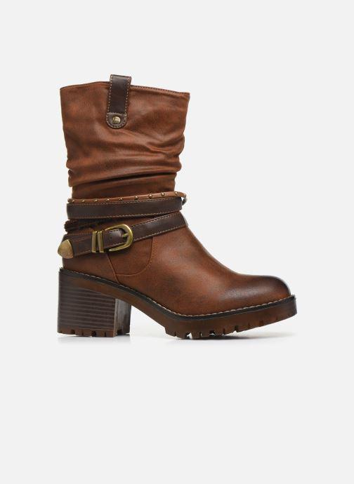 Boots en enkellaarsjes MTNG GLAM Bruin achterkant