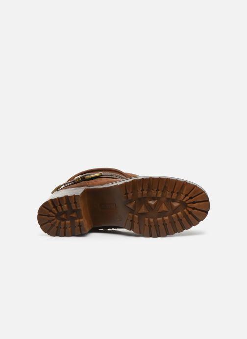 Bottines et boots MTNG GLAM Marron vue haut