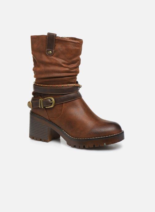 Boots en enkellaarsjes MTNG GLAM Bruin detail