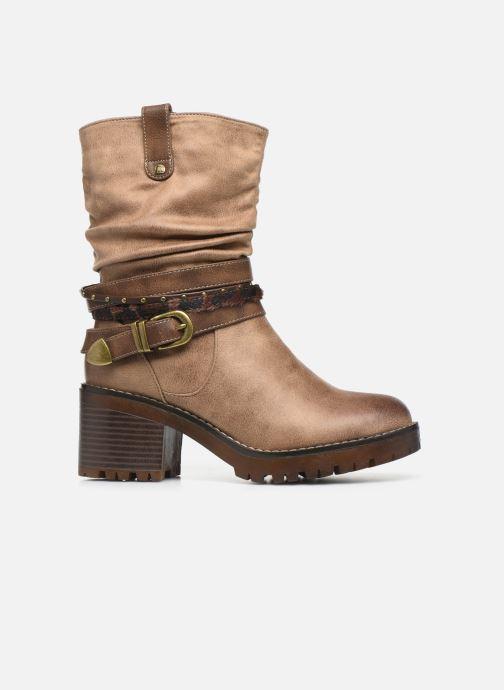 Bottines et boots MTNG GLAM Beige vue derrière