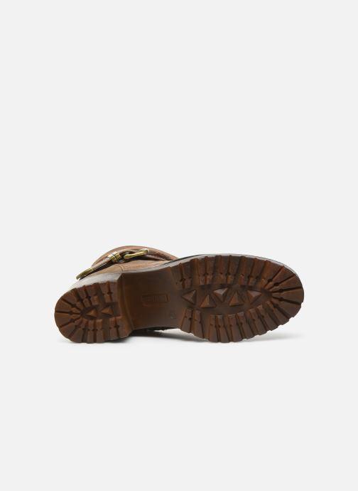 Boots en enkellaarsjes MTNG GLAM Beige boven