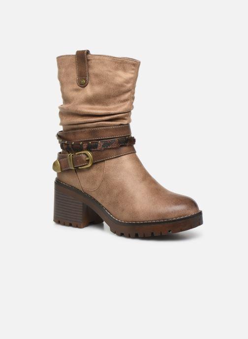 Bottines et boots MTNG GLAM Beige vue détail/paire