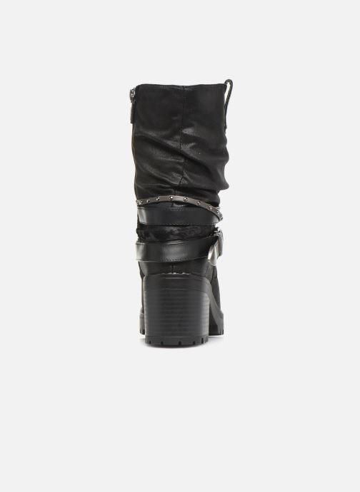 Boots en enkellaarsjes MTNG GLAM Zwart rechts