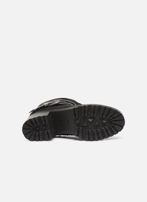 Bottines et boots MTNG GLAM Noir vue haut