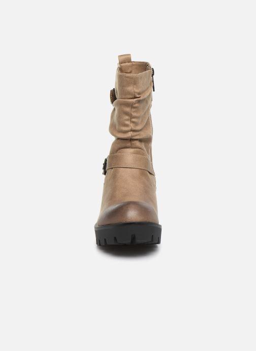 Boots en enkellaarsjes MTNG SAURO 58233 Beige model