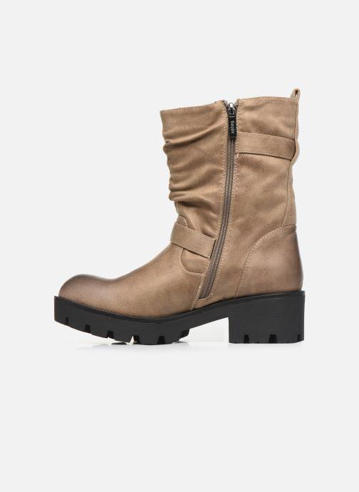 Boots en enkellaarsjes MTNG SAURO 58233 Beige voorkant