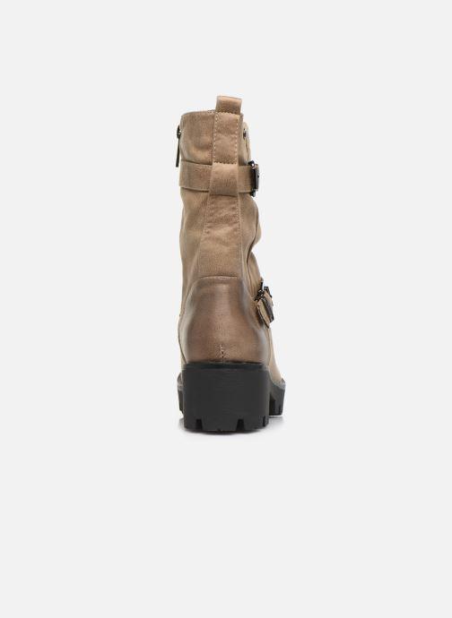 Boots en enkellaarsjes MTNG SAURO 58233 Beige rechts